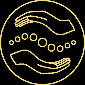 Physio Wojtek Logo Gelb ohne Text